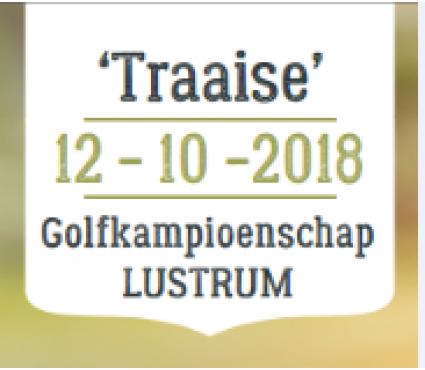 Traaise golfkampioenschap LUSTRUM