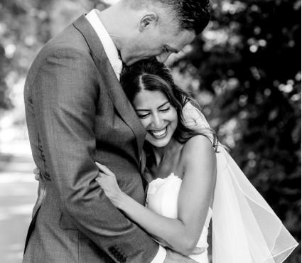 Camilla & Pascal vierden bruiloft bij Landgoed Bergvliet