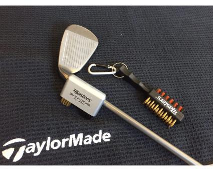 Schoonmaken van golfclubs
